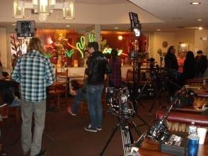 Behind the scenes at Papa Felipe's shoot