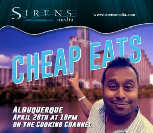 Cheap Eats host, Ali Khan