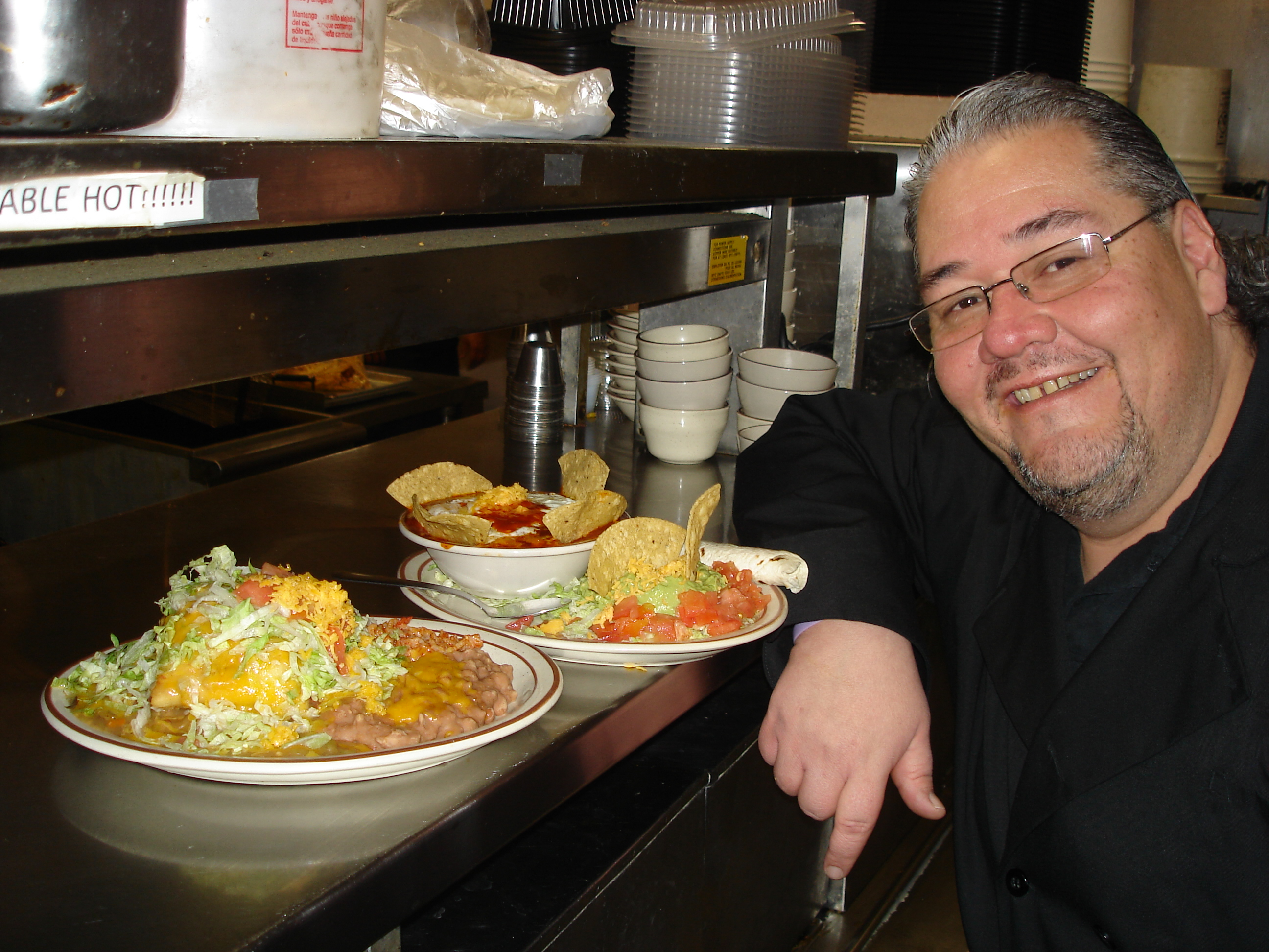 Head Chef And Gm Larry Gonzales
