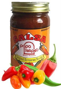 Papa Felipe's salsa: We Ship