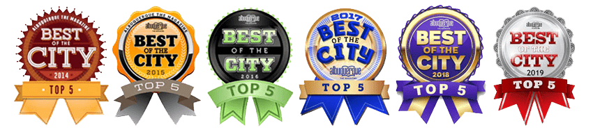 Best of City, Albuquerque award badges